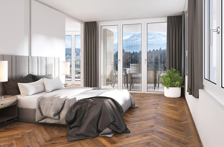 Schlafzimmer Krauer